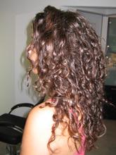 לפני החלקת שיער