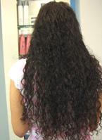תוספות שיער מתולתל
