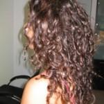 שיער טבעי לפני החלקה יפנית
