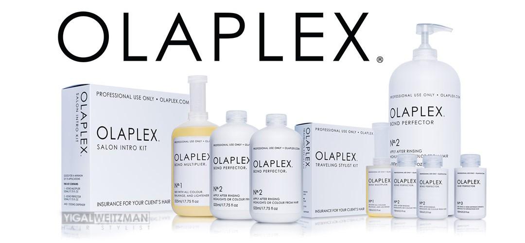 אולפלקס OLAPLEX  שיקום שיער ומניעת שבירת שיער